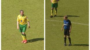 Philip Mulryne (left) and Jürgen Klinsmann (right) both featured.