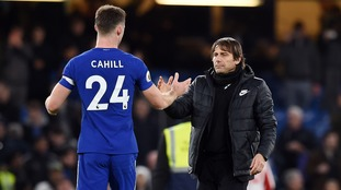 Chelsea centre-back Gary Cahill has called for clarity over manager Antonio Conte's situation at the club