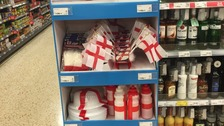 ASDA store 'slammed' for taking down England merchandise
