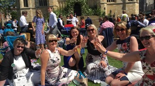 Prime position for nurses invited to watch the Royal Wedding