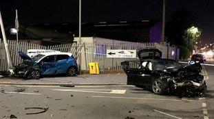 Mum whose children were injured in crash arrested on suspicion of drink driving