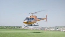 Commuters offered helicopter flights from Sussex to London