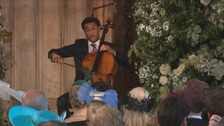 Nottingham cellist 'wasn't nervous' during Royal Wedding performance