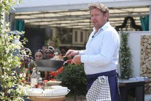 Celebrity chef James Martin.