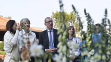 In Pictures: Prime Minister joins stars at Chelsea Flower Show