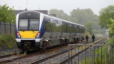 Man dies after being struck by train in Lurgan