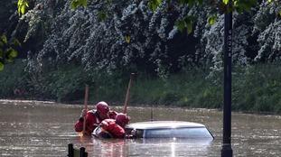 Flood in Newburn