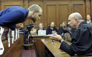 Van Breda will be sentenced at a later date.