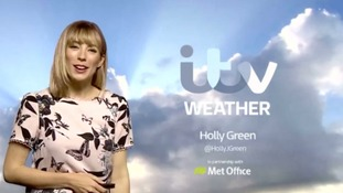 Tuesday morning's weather forecast