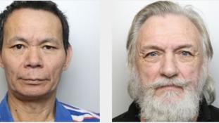 Mo Quan Zhou, left, and Meyrick Bramhill-Purchase