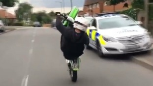Police call for protection from prosecution when pursuing moped and scooter riders