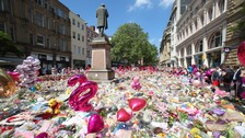 Grande sends support on Manchester attack anniversary