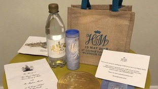 Guest's Royal Wedding gift bag up for sale on eBay for £10,000