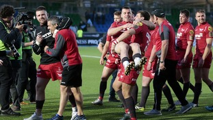 Scarlets final prep rocked by 'burns injuries' ahead of Pro 14 final