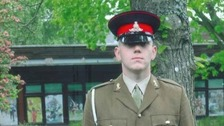 Tributes paid to soldier who died in collision on A417