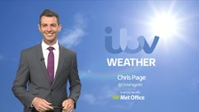 Chris has the forecast for ITV Anglia