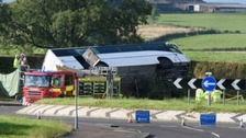 Rangers supporters' bus crash driver 'blamed the brakes'