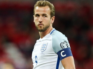 The Premier League's top English scorer, Harry Kane, has been selected as captain of the Three Lions for the Fifa World Cup.