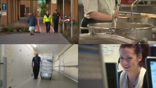 Behind the scenes at Musgrove Park Hospital