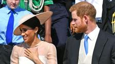In Pictures: Meghan and Harry make first appearance since wedding