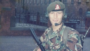 Retired soldier Mike Harmson was in NI during the Troubles.