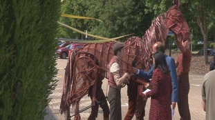 'War Horse' theatre show opens in Southampton
