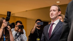 Mark Zuckerberg was asked if he had created a 'digital monster'.