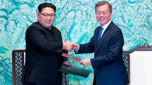 Moon Jae-in has met with Kim Jong Un.