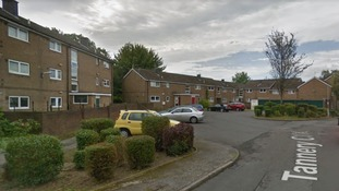 Emergency services were called to a block of flats in Tannery Close in Woodhouse