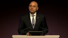 The address to the Police Federation was Sajid Javid's first major speech since becoming Home Secretary.