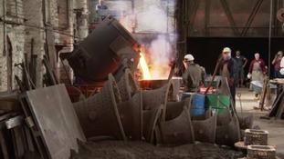Bells being cast