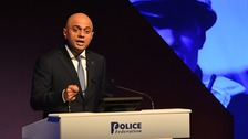 Home Secretary backs use of stop and search