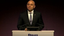 Home Secretary Sajid Javid backs stop and search to cut crime
