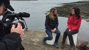 Talking to Gwen Potter, Countryside Manager for the Northumberland Coast