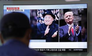 US president Donald Trump and North Korean leader Kim Jong Un are due to meet next month.