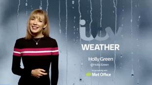 Thursday's weather forecast.