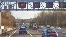 Wider lanes on the M60 in time for bank holiday