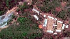 North Korea 'demolishes nuclear test site'