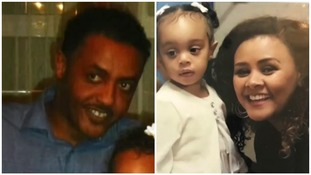Mohamednur Tuccu, Amal Ahmedin, and their daughter Amaya Tuccu-Ahmedin