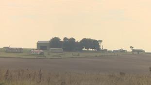 Netheravon Airfield in Wiltshire