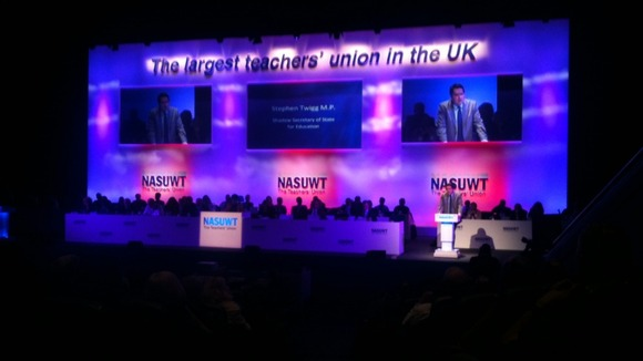 NASUWT meet in Birmingham