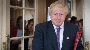 Kremlin 'behind hoax call' targeting Foreign Secretary Boris Johnson