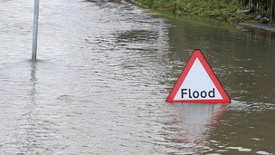 River levels are responding to rainfall, the Environment Agency has warned.