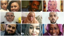 The victims of the Grenfell Tower disaster