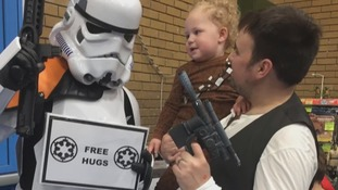 Star Wars superfan wins UK-wide competition after making special film documenting his baby's life