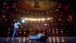 Tim hits the floor