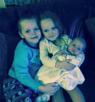 Brandon, Lacie and Lia Pearson