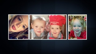 Two jailed for life over arson attack that killed four siblings