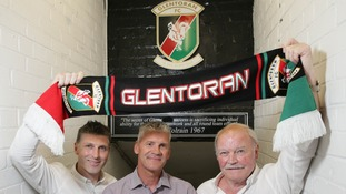 Paul Leeman and Gary Smyth will join continuing Glentoran boss Ronnie McFall in the management team