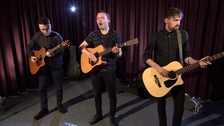 An exclusive performance from a band overcoming the odds